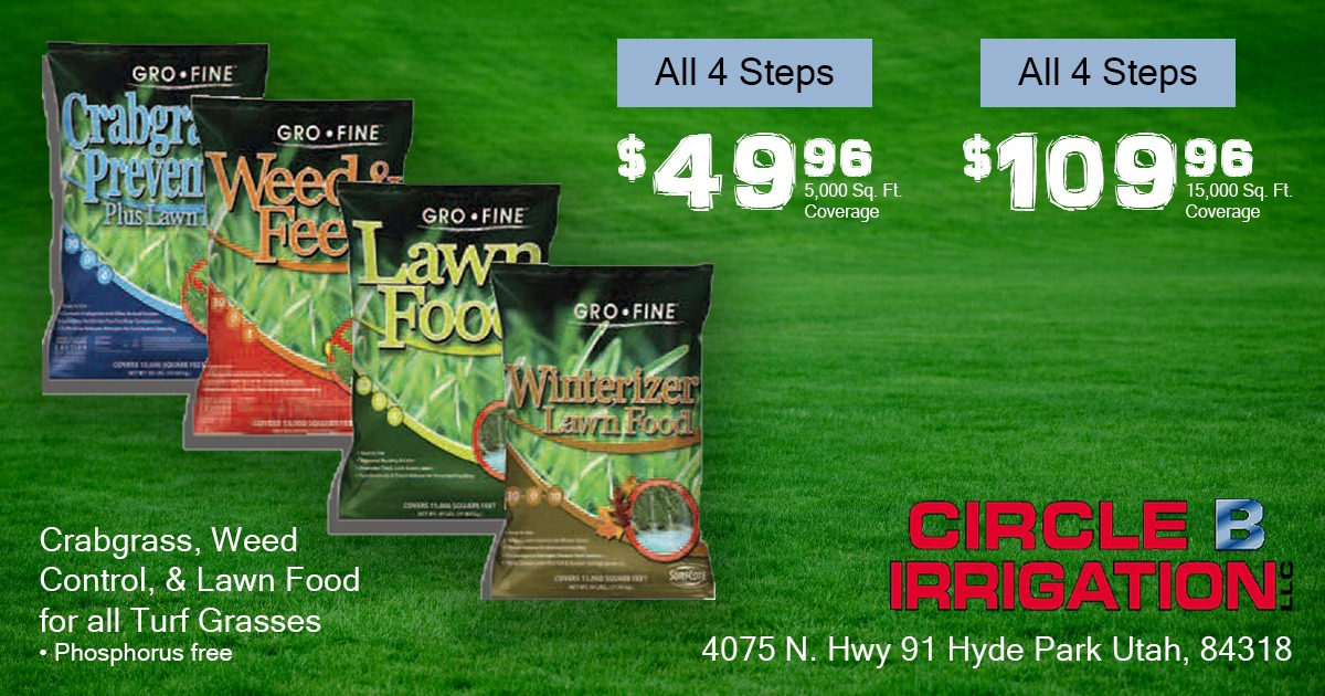 Current Deal - 4 Step Lawn Care Program Discount