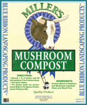 Mushroom Compost - Miller's Landscaping Products