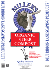 Organic Steer Compost - Miller's Landscaping Products