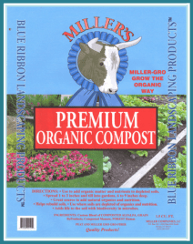 Premium Organic Compost - Miller's Landscaping Products
