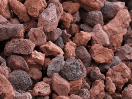 Red Lava Rock - Miller's Landscaping Products